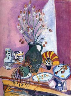 Still Life with Flowers by Henri Matisse Size: 114x87 cm