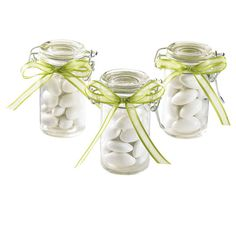 Add a creative touch to your special occasion! These favor jars make wonderful tabletop acc...18 in a set 14.99 @ michaels