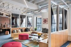 "Metromile, an insurance startup that invents smarter ways to manage risk, with products like pay-per-mile car insurance and an expedited claims process, recently hired interior design studio Becky Carter, to design their new offices in Boston, Massachusetts. ""In a marriage of New England's rich, historic aesthetic and Silicon Valley's innovative energy, Metromile's 5500 square foot Boston … Continue reading Inside Metromile's New Boston Office →"