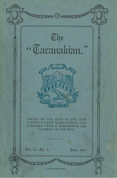 1917 The Taranakian Vol. 6, No. 1 June