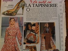 Tapisserie in MarieClaire magazine