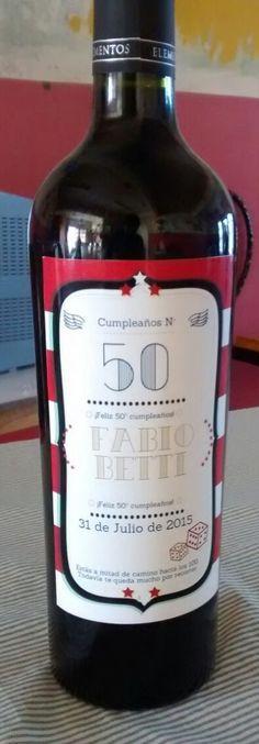 Sticker para vinos