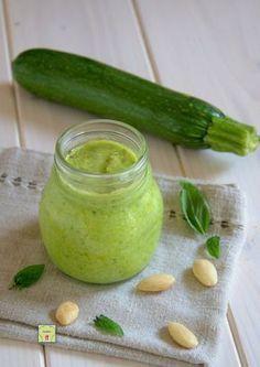 Pesto di zucchine, ricetta facile e veloce