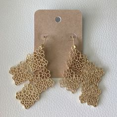 OCEAN JEWELERS Statement Earrings Ask all your questions prior to purchasing. Ocean Jewelers Jewelry Earrings