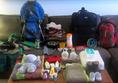 Travelling with a toddler: what to pack.
