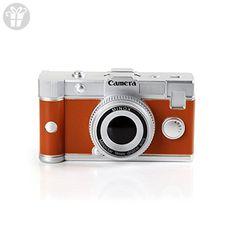Baidecor Orange Camera Money Box Piggy Bank (*Amazon Partner-Link)