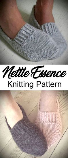 Nettle Essence - Knitting Pattern - knitting is as easy as 3 The knitting . Nettle Essence - Knitting Pattern - knitting is as easy as 3 Knitting boils down to three essential skills. Simply Knitting, Knitting Blogs, How To Start Knitting, Knitting For Beginners, Easy Knitting, Knitting Socks, Knitted Socks Free Pattern, Circular Knitting Needles, Knitting Stitches