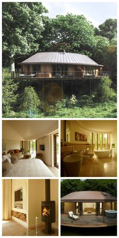 Luxury Treehouse Suites at Chewton Glen, by Blue Forest. To book visit http://www.chewtonglen.com/tree-house-suites/