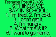 Yes, i say it all the freaking time!
