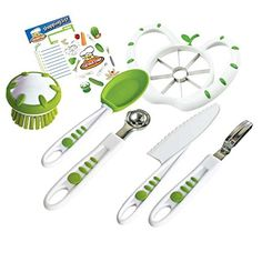 Crisp tools for healthy eating - 6 piece fruit and veg prep kit curious chef >>> You can find more details here : Roasting Pans