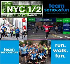 Get a jump start on your New Year's resolutions and fight off those extra holiday pounds before they even have a chance by joining Team SeriousFun for a 13.1 mile adventure through New York City at the 2014 NYC Half Marathon! Training begins in mid-December. Spaces are limited! Contact us for more information or to register today: 1-866-444-8860 or teamseriousfun@seriousfunnetwork.org. Go Team SeriousFun! #NewYears #Resolution #NYCHalf #NYC #TeamSeriousFun #HalfMarathon #InShape