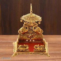 Pooja Needs  Laddu Gopal Swing Palana Krishna Jhula, Standard Size, Golden Pack: Pack of 1 Country of Origin: India Sizes Available: Free Size   Catalog Rating: ★4.2 (746)  Catalog Name: Designer Pooja Samagri CatalogID_1203294 C128-SC1315 Code: 033-7475340-087