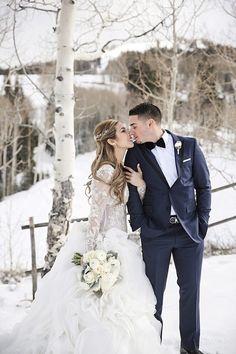 Utah Winter Wedding Pepper Nix Photography