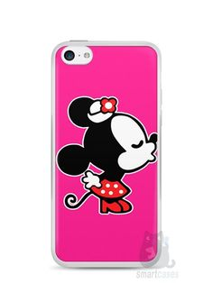 Capa Iphone 5C Mickey e Minnie Beijo - SmartCases - Acessórios para celulares e tablets :)
