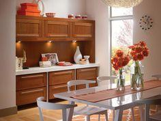 Cherry Dining Room in Cinnamon