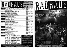 Programmheft September 2013 Front-Rückseite