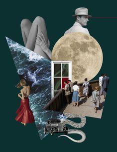 portfolio - aleksandra morawiak / liquid memory collages Collage Design, Collage Art, Magazine Collage, Fashion Portfolio, Illustrations, Postmodernism, Artist Art, Mixed Media Art, Art Inspo