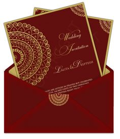 Top Indian Wedding Invitation Cards