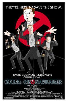 Opera Ghostbusters (redux) by Raphael2054 on DeviantArt