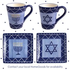 11/20/12: A lovely mini-collection perfect for breakfast, lunch, appetizers or desserts. Contact your local HomeGoods for availability.
