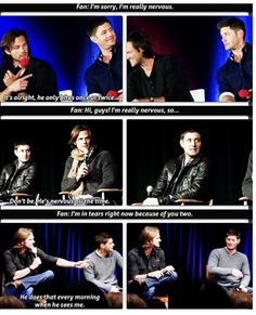 One of the many reasons i love Jared and Jensen ♥