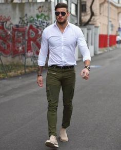 27 Best Men Cargo Pants Images In 2019 Pockets Street Outfit
