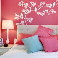 decoración y color en el dormitorio