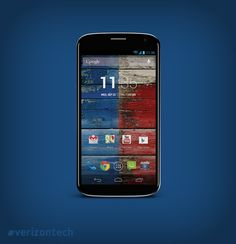 Meet the highly-customizable Moto X by Motorola, the first smartphone designed and assembled in the USA. #verizontech