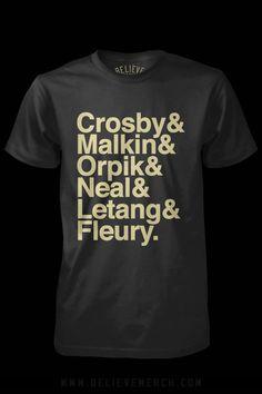 Lets Go Pens!!! Super cute hockey shirt!