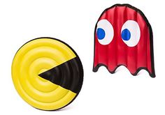 Pac-Man Inspired Pool Floats