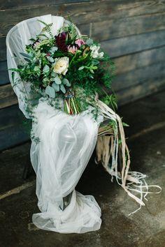 Revel+Bloom Industrial Garden Party Wedding | Emily Sacco Photography