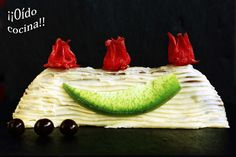 ¡¡Oído cocina!!: Pastel  de cacao, plátano y nueces con chocolate b...