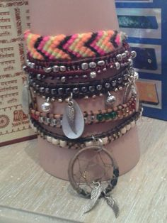 Posh friendship bracelets with clasps, beads & charms. Locally crafted by hippy fairy each 2 for Hippy, Friendship Bracelets, Charms, Fairy, Jewellery, Beads, Accessories, Fashion, Beading