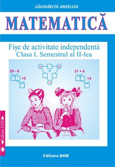 Editura DOR Math Logic Puzzles, Math Worksheets, Grade 1, Chart, Learning, School, Books, Libros, Studying