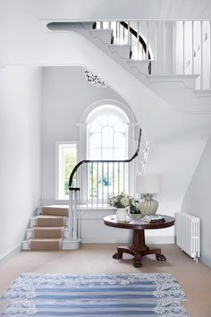 Spiral? Floating? Discover staircase design ideas on HOUSE - design, food and travel by House & Garden