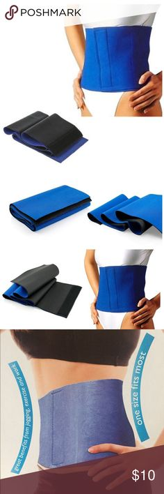 Waist Trimmer Belt The neoprene blend material is designed to preserve body heat, promote water loss and provide extra back support during exercise. The waist trimmer's quality neoprene construction makes it comfortable, lightweight, durable and easy to care for.  The waist trimmer belt may help reduce unwanted inches around the waist when used in conjunction with proper exercise and diet program. Other