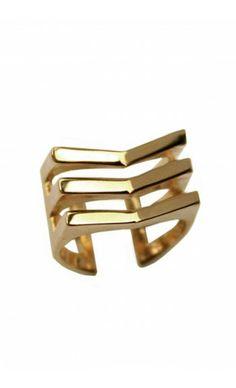 Shop Chevron Mini Ring by TOM TOM Jewelry on http://www.mybeautifuldressing.com/en/4065-chevron-mini-.html
