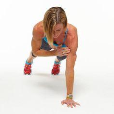 Plank Challenge: High Plank Shoulder Taps