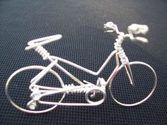 Handmade Womens Mountain Bike - Metal Wire Wall Bicycle Sculpture Decorations Art as Specialized Unique Cycling Gifts Ornaments...