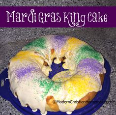 This Mardi Gras King Cake Recipe is simply amazing. I took some twists while creating the recipe. One of the biggest twists, potato flakes in the dough!