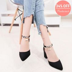 Get latest cheap pumps for women at chicloth. Find more styles of pump & heels Women's Pumps, Pump Shoes, Shoes Heels, Rough Heels, Cheap Heels, Cheap Shoes Online, Women's Summer Fashion, Pointed Toe Pumps, India