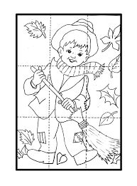 Preschool Puzzles, Body Preschool, Fall Preschool, Puzzles For Kids, Preschool Activities, Fall Arts And Crafts, Holiday Crafts For Kids, Autumn Crafts, Art Activities For Kids
