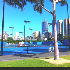 Melbourne Park - Home of the Australian Open