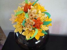 Origami bouquet.