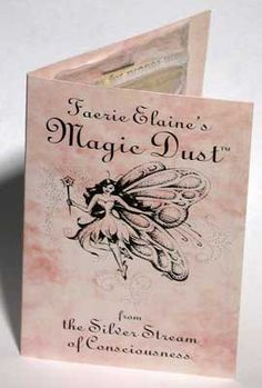This magickal dust has been created to help you in attracting the blessings and guidance of the Faerie folk. Through the wonder and magic they offer you can discover a joy and abundance that you can bring into your life. Add a sprinkle or a pinch to your magical crafts, and bring a bit of Faerie glamour to your magical craft. $5.95