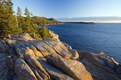 Acadia National Park, located in Maine, boasts the highest mountain on the U.S. Atlantic Coast and was the first national park east of the Mississippi River.