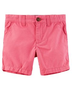 Baby Boy Flat-Front Shorts from Carters.com. Shop clothing & accessories from a trusted name in kids, toddlers, and baby clothes.