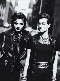 US Vogue 1991 by Peter Lindbergh and Grace Coddington