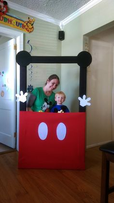 Mickey Mouse Photobooth