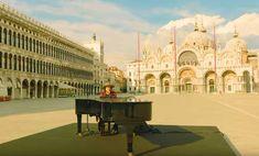 """Amore adesso"": Zucchero singt im menschenleeren Venedig Michael Stipe, Louvre, Mansions, Lifestyle, House Styles, Building, Travel, Venice, Life"